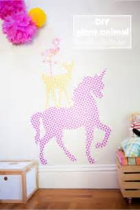 diy wall stickers diy giant animal wall stickers with free printables