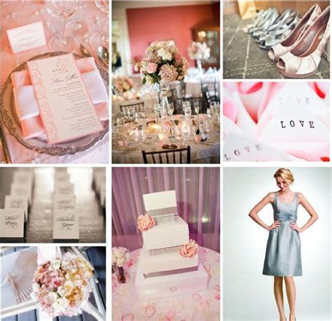 grey pink wedding theme pink and grey wedding theme