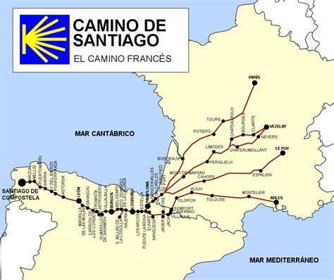 el camino de santiago turismoespa 241 a ruta camino de santiago el camino