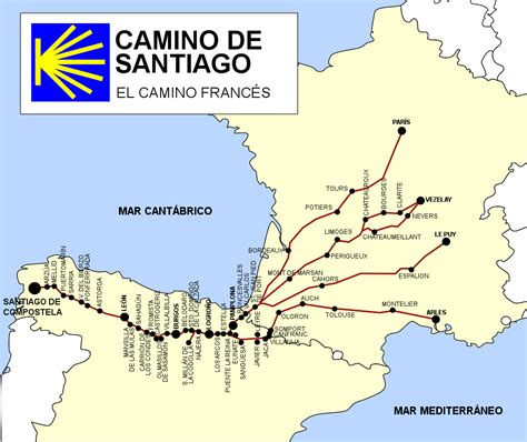 el camino frances turismoespa 241 a ruta camino de santiago el camino