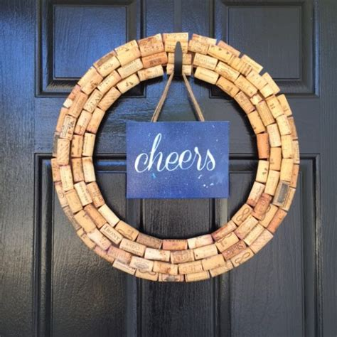 25 best ideas about wine cork wreath on cork wreath corks and wine corks