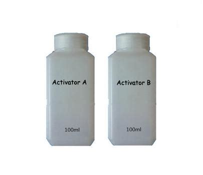 spray paint water transfer 100ml activator a and 100ml activator b hydrographic water