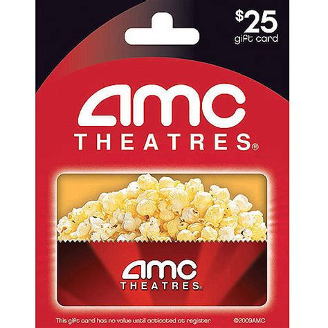 Amc Gift Card Value - got an amc theatres gift card in the sum of 25 and there really isn images frompo