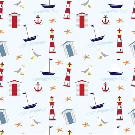 nautical pattern background free illustration nautical wallpaper background free