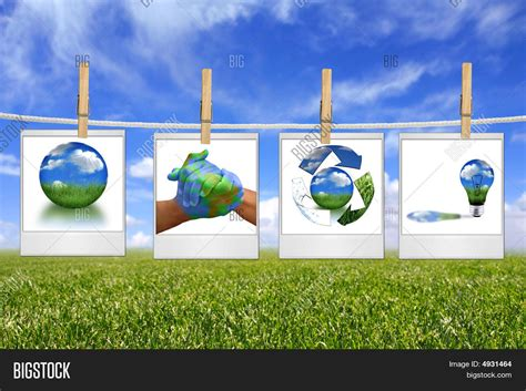 Powerpoint Template Global Warming Concept Of Green Ezdbege Green It Concept Ppt