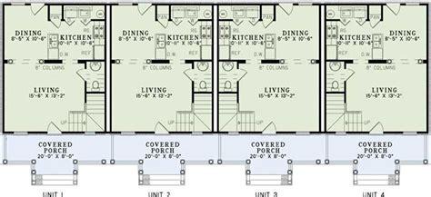 Multi Unit Floor Plans multi unit house plans home plan 153 1253 the plan