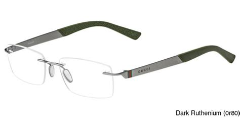 buy gucci 2239 rimless frameless prescription eyeglasses