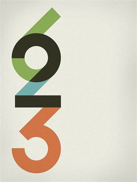 number 5 typography best 25 number typography ideas on number