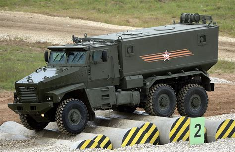 armored military vehicles typhoon k the perfect weapon for the fight against the