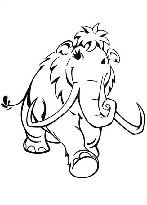 coloring pages ice age 3 az coloring pages