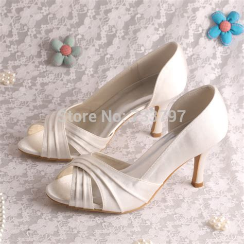 Wedding Shoes Color by 20 Colors High Quality Wedding Shoes Satin For