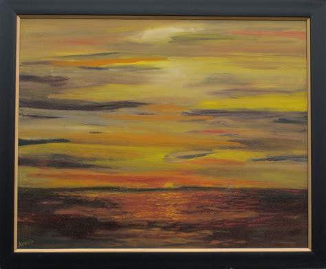Falling Dusk amrita banerjee falling dusk painting artwork