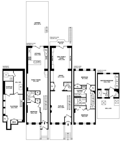 26 best eichler floor plans images on pinterest modern 29 best townhouse floor plans images on pinterest floor