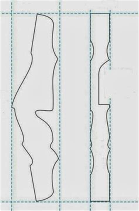 bow handle template plans template for the riser of yoshinok s bow diy