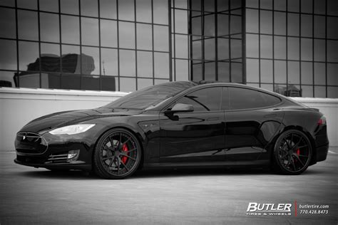 Tesla Atlanta Ga Tesla Model S P85d With 22in Niche Stuttgart Wheels