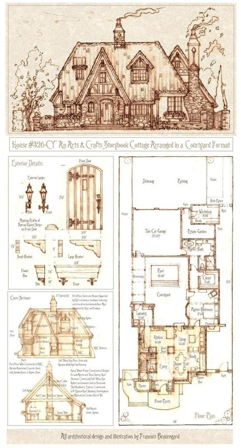 new house plan 86154 total living area 2673 sq ft 5 17 best images about english tudor on pinterest house