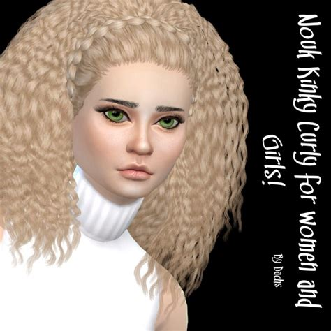 sim 4 cc curly hair my sims 4 blog nouk kinky curly hair recolors by dachs