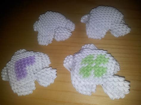 3d Origami Turtle - 3d origami turtle by unsjn on deviantart