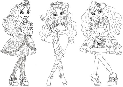 happily ever after high coloring pages ever after high coloring pages coloring home