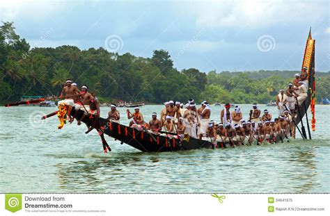 dream boat race snake boat races of kerala editorial image image 34641675