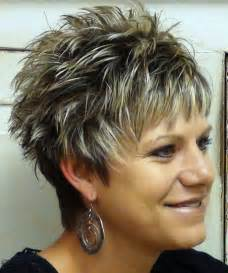 spikey womens hairstyles short spikey hairstyles for women over 40