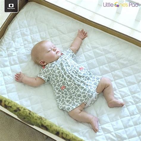 Portable Crib Mattress For Pack N Play by One S Pad Pack N Play Crib Mattress Cover Fits