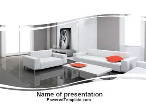 interior design powerpoint presentation exle interior design of living room powerpoint template by