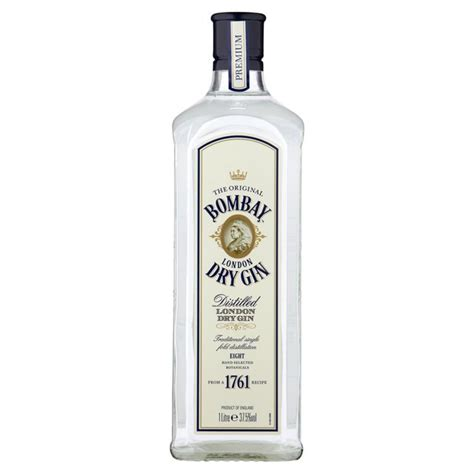 morrisons bombay london dry gin 1l product information