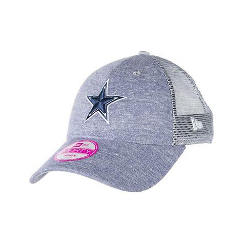 dallas cowboys new era womens tri blend trucker cap