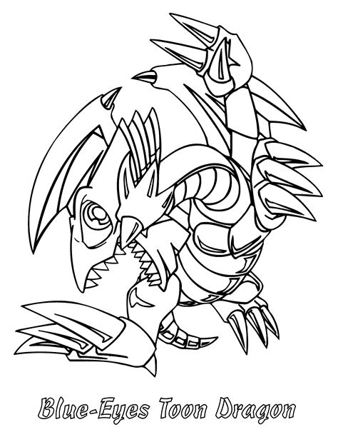 coloring page yu gi oh coloring pages 74