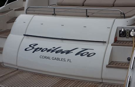 boat lettering miami boat lettering custom made miami south beach kendall