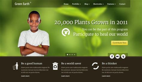 18 Best Charity Website Templates Wordpress Themes Best Charity Website Templates