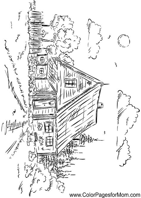 hard landscape coloring pages hard landscape free coloring pages