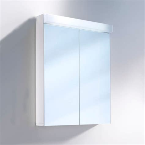 schneider mirrored bathroom cabinet schneider lowline 60cm 2 door mirror cabinet with led light