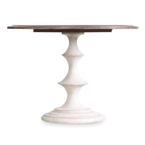 42 inch white dining table furniture melange brynlee 42 quot pedestal dining