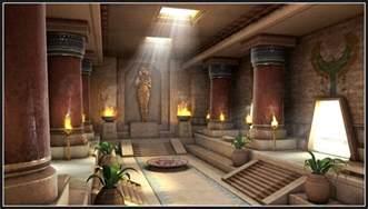 Beautiful Indian Home Interiors Shibasis Dutta Cg Works Egyptian Palace Interior