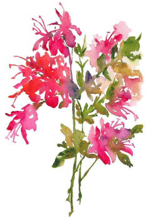 printable watercolor flowers fresh pick azaleas watercolor print 8x10 watercolor flowers
