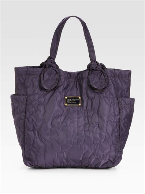 Marc By Marc Tate Embroidered Shopper by Marc By Marc Pretty Medium Tate Tote Bag In