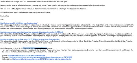Cambridge Email Search An Email Exchange Provides A Glimpse Into How Cambridge