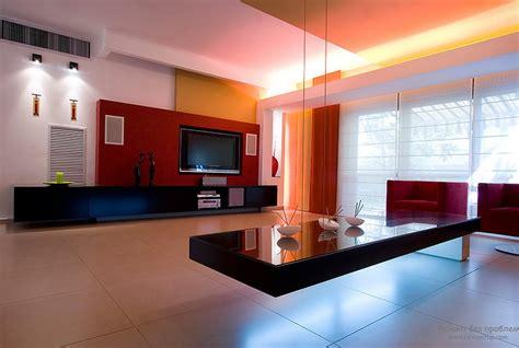 Living Room Drop In Center красная гостиная в интерьере квартиры комната в красных