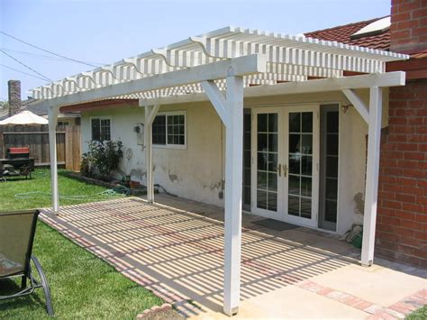 How To Build A Free Standing Patio Cover Covered Patio