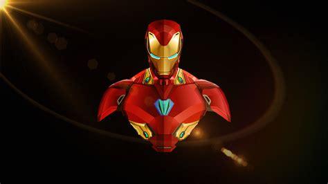 iron man avengers infinity war minimal wallpapers hd