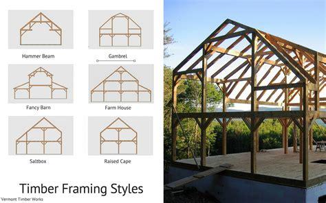 a frame roof design custom timber frame design gambrel barn