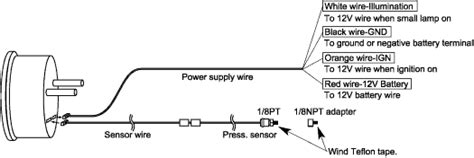 defi d gauges how to install egauges