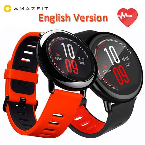 Xiaomi Huami Amazfit Pace International Version Smart version original xiaomi huami amazfit pace