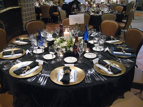 wedding reception table settings photos black table settings wedding reception flickr photo