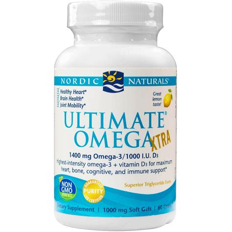 Nordic Ultimate Omega nordic naturals ultimate omega xtra health