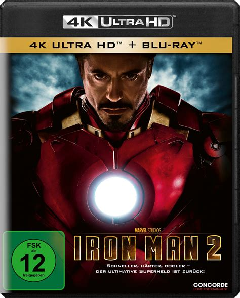 film blu ray 4k uhd blu ray kritik iron man 2 4k review rezension