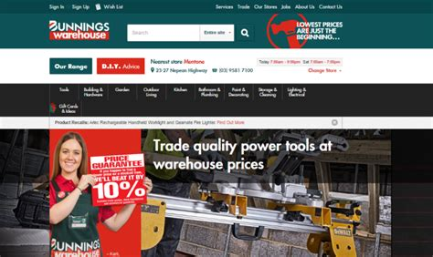 bunnings warehouse sale 10 december 2017 look