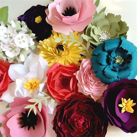 How To Make Paper Flower Backdrop - paper flower backdrop ideas